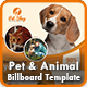 Pet Billboard | Animal Billboard Templates