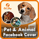 Pet Facebook Timeline Cover | Animal Facebook Timeline Cover Templates