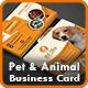 Pet Business Card | Animal Business Card Templates