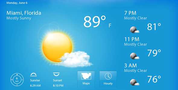 Live Weather Android app + AdMob Ad integration - CodeCanyon Item for Sale