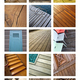 Collage of wooden architecture - PhotoDune Item for Sale
