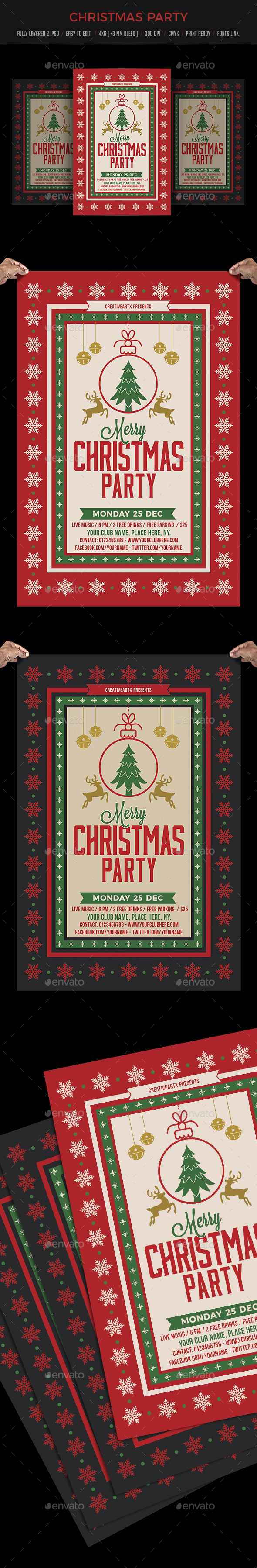 GraphicRiver Christmas Party 20962244