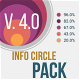 Clean Flat Info Circle Pack - VideoHive Item for Sale