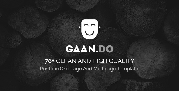 Download Free Gaando - Responsive Portfolio And Multipurpose HTML Template