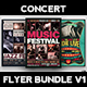 Concert Flyer Bundle - GraphicRiver Item for Sale