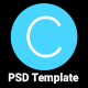 Circle Agency PSD Template