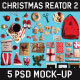 Christmas Scene and Mock-up Creator #2