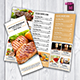TriFold Restaurant Menu Template Vol. 9 - GraphicRiver Item for Sale