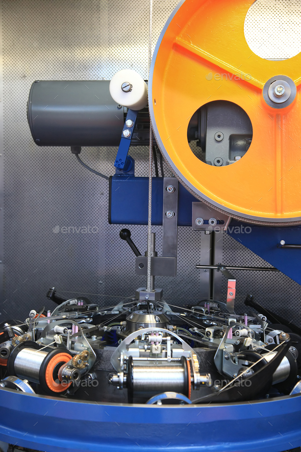 manufacture of RF cable - Stock Photo - Images