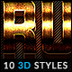 10 3D Styles vol. 02 - GraphicRiver Item for Sale