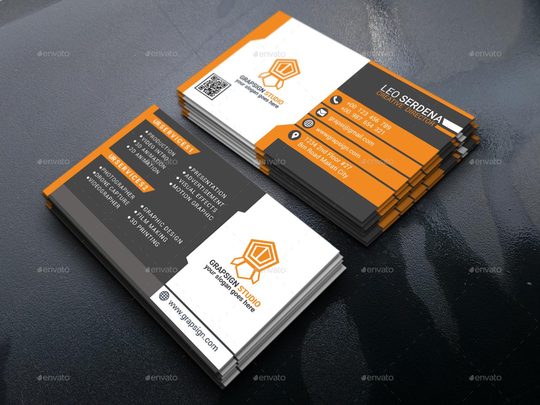 Creative Business Card by Leoserdena   GraphicRiver