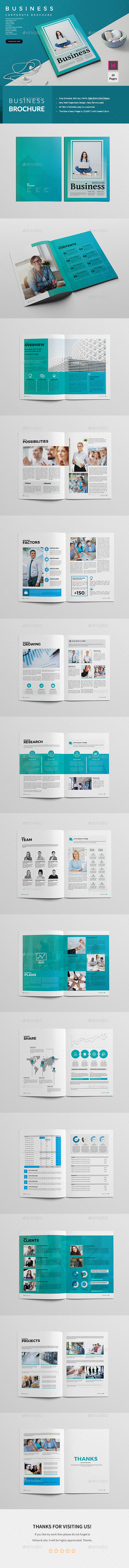 Business Brochure 28 Pages - Corporate Brochures