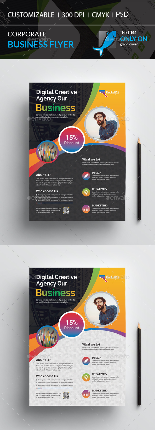 GraphicRiver Flyer 20963456
