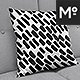Square Pillow on Sofa Mock-ups Set