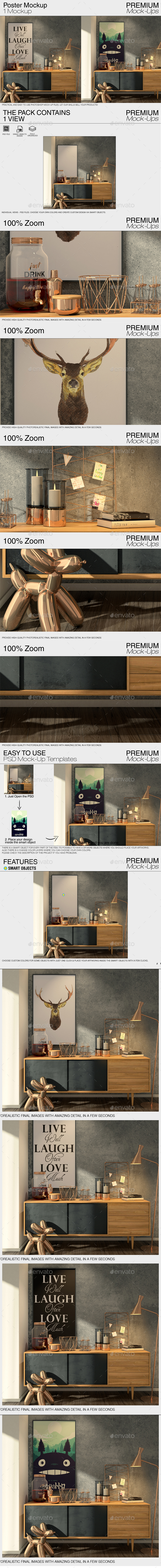 GraphicRiver Poster Mockup 20963584