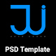 Jui Personal Portfolio PSD Template - ThemeForest Item for Sale