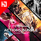 2017 Four In One 2 Actions Bundle - GraphicRiver Item for Sale