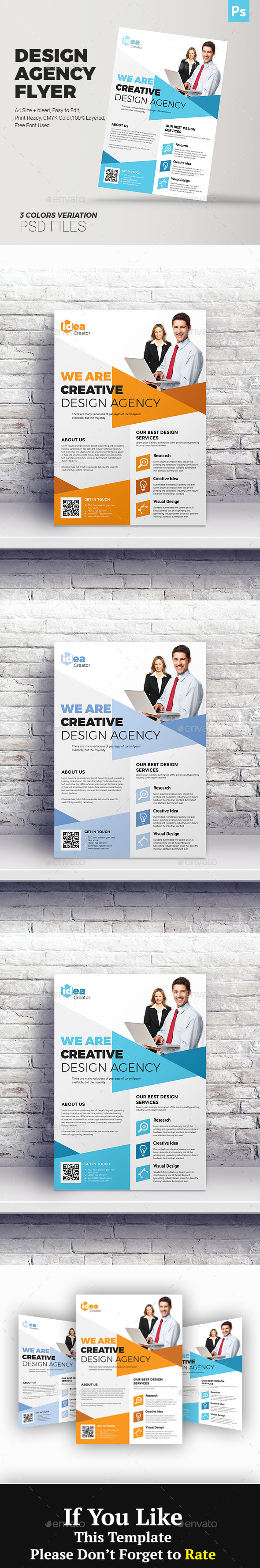 GraphicRiver Design Business Agency Flyer 20963789