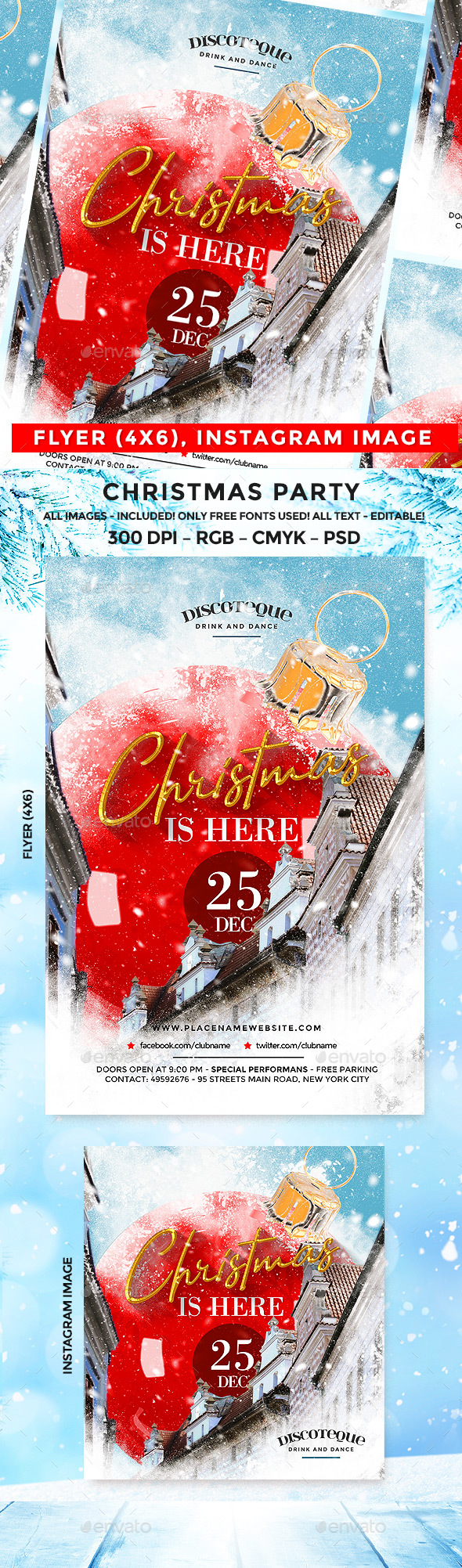 GraphicRiver Christmas Flyer 20963991