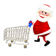 Santa with the Trolley - VideoHive Item for Sale