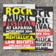 Rock Music Festival Flyer - GraphicRiver Item for Sale