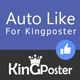 Facebook Auto like Module for Kingposter
