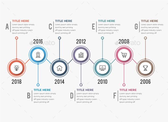 GraphicRiver Timeline Infographics 7 Steps 20964251