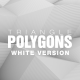 Triangle Polygons Loop Background White Version - VideoHive Item for Sale