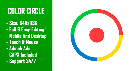 Source code              Color Circle – HTML5 Game + Mobile Version! (Construct-2 CAPX)            nulled