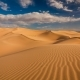 Sunset Over the Sand Dunes in the Desert - VideoHive Item for Sale