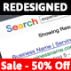 Search Results Business Card - GraphicRiver Item for Sale