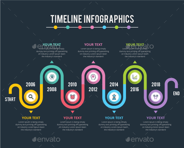 GraphicRiver Modern Timeline Infographics 20965269