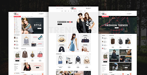 Image of Themini E-Commerce Bootstrap Responcive Template