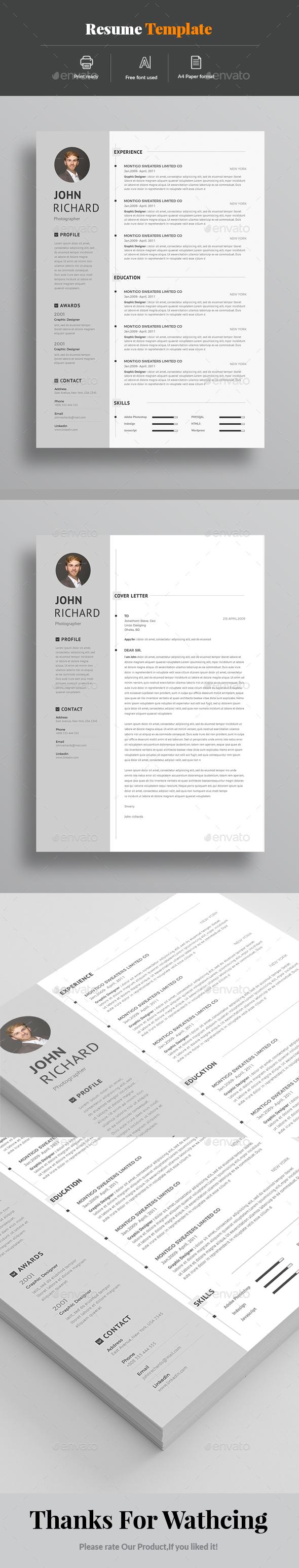 GraphicRiver Resume 20965745