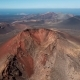 Aerial Panorama of Volcanic Valley Near Timanfaya National Park, Lanzarote - VideoHive Item for Sale
