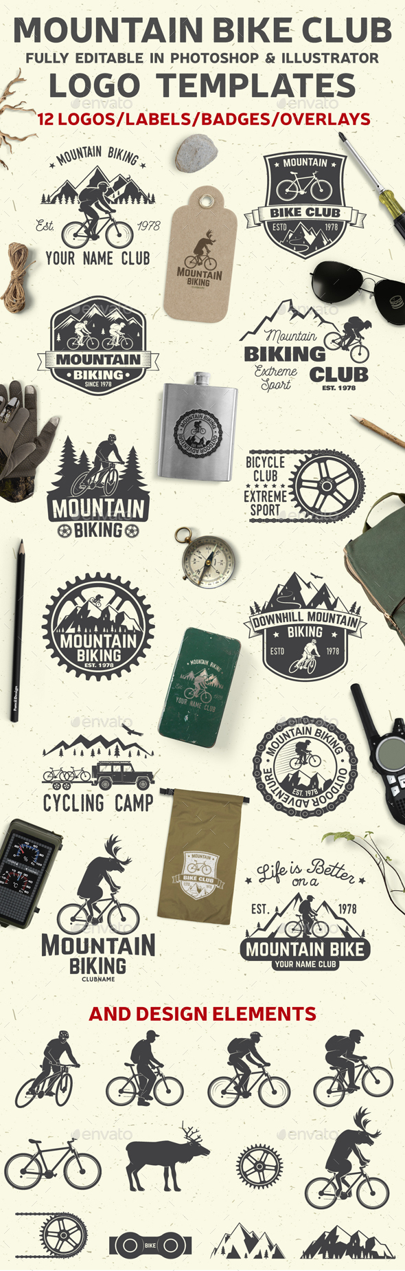 GraphicRiver Mountain Bike Club 20965871