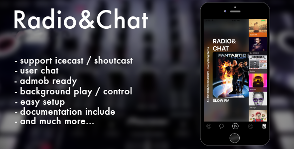 Radio & Chat (multi) iOS - CodeCanyon Item for Sale