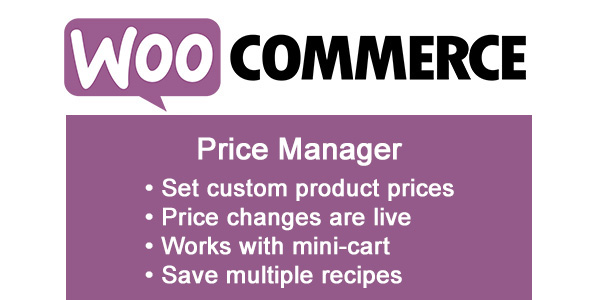 WooCommerce Price Manager - CodeCanyon Item for Sale