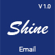Shine Multipurpose Email + Online Builder