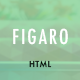 Figaro - App Landing Page - ThemeForest Item for Sale