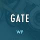 Gate - A Responsive WordPress Blog Theme