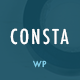 Consta - One Page Construction WordPress Theme - ThemeForest Item for Sale