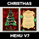 Christmas Menu Template V7 - GraphicRiver Item for Sale