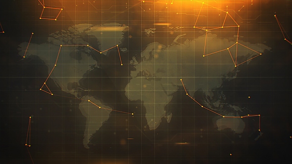 VideoHive Military World Map 20966631