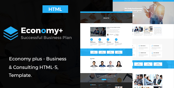 Download Economy Plus - Business Consulting and Professional Services HTML Template            nulled nulled version