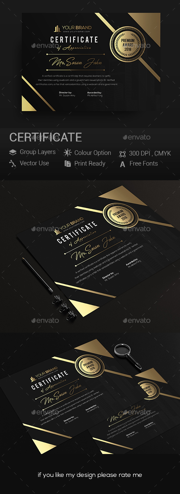GraphicRiver Certificates 20966708