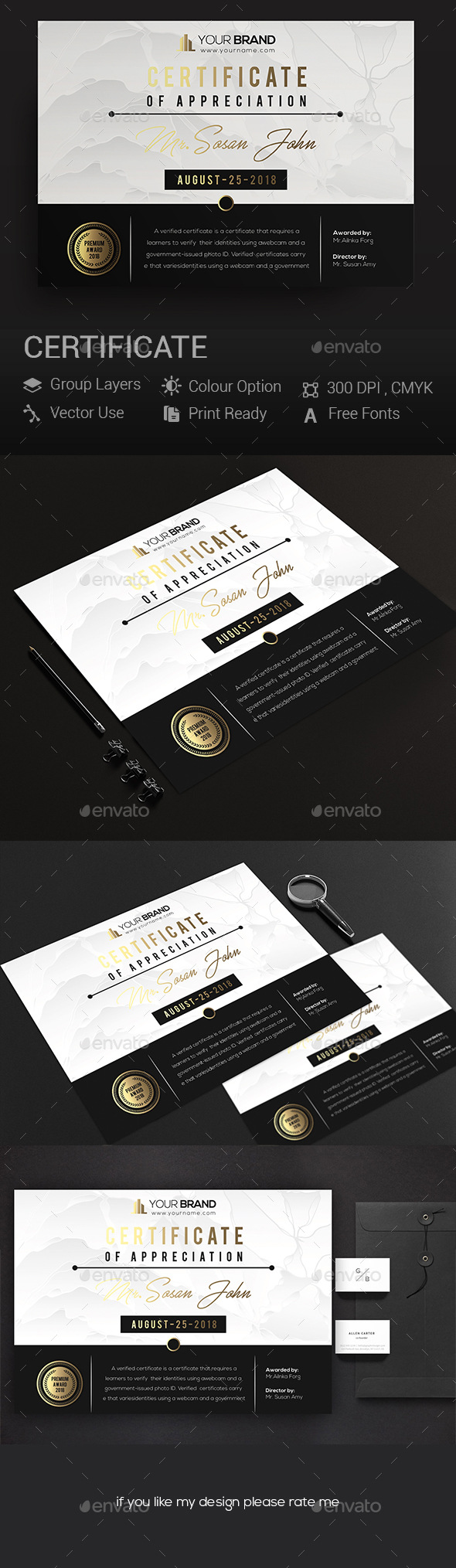 GraphicRiver Certificates 20966718