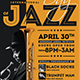 Jazz Day Flyer Template - GraphicRiver Item for Sale