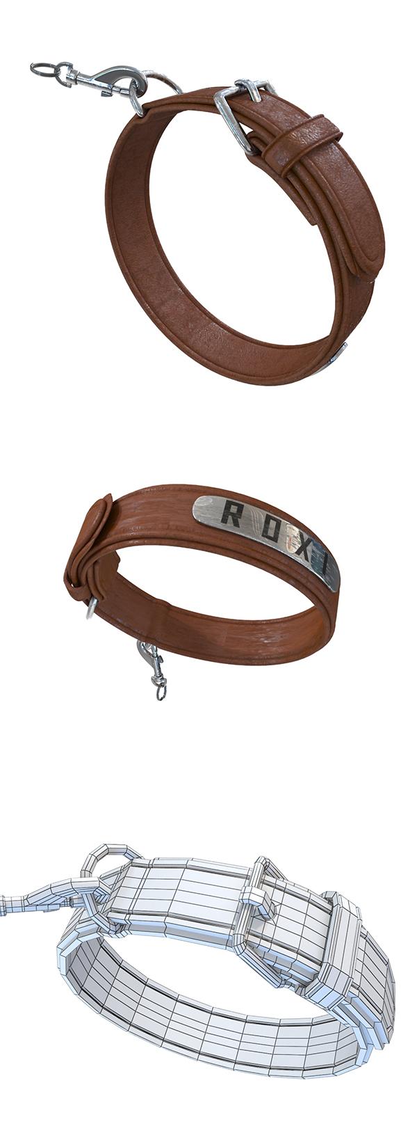 Dog Collar - 3DOcean Item for Sale