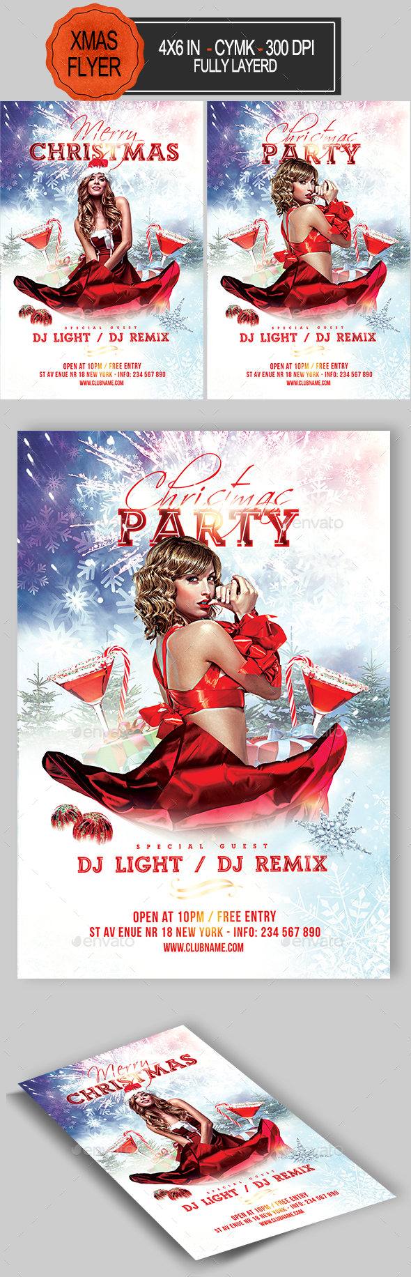GraphicRiver Christmas Flyer 20967572